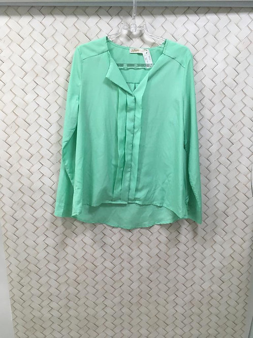 Camisa Verde KITSON