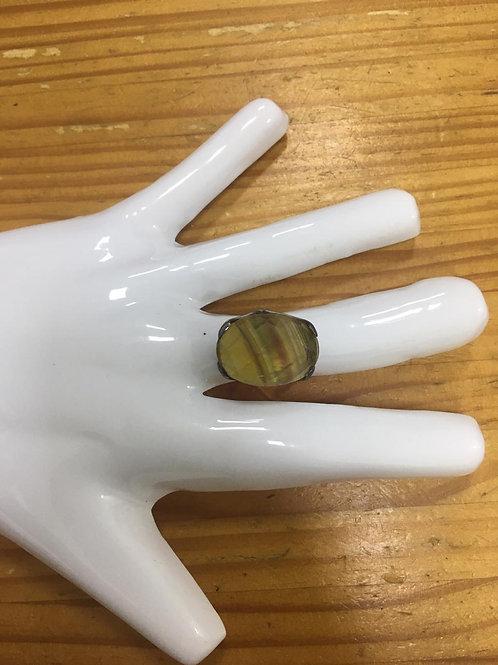 Anel Pedra Caramelo