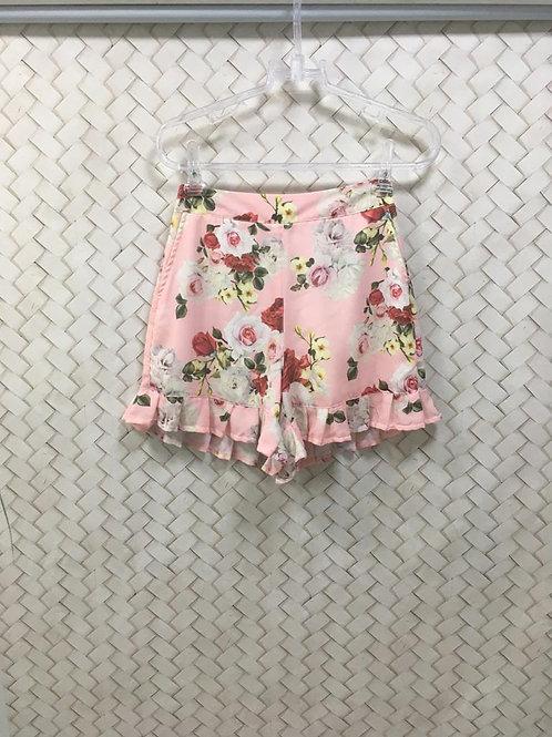 Short  Floral Rosa