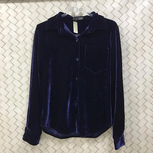 Camisa Cotelê Azul A.BRAND