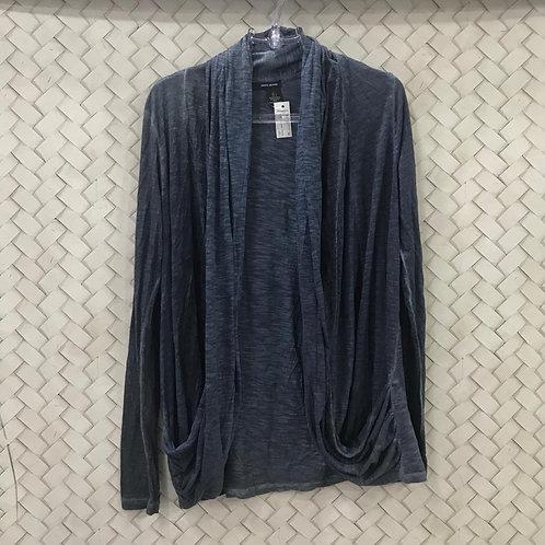 Kimono Malha Azul DKNY