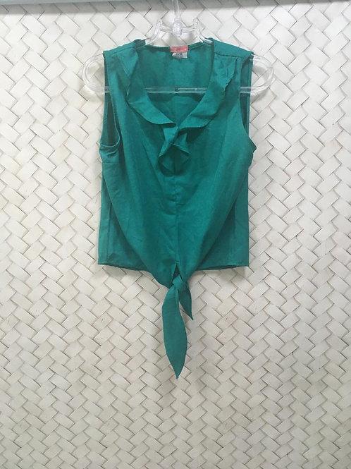 Blusa Verde Nó OVOE