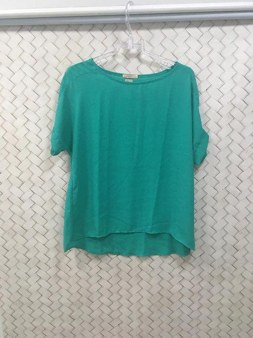Blusa Verde Crepe FIO BRASIL