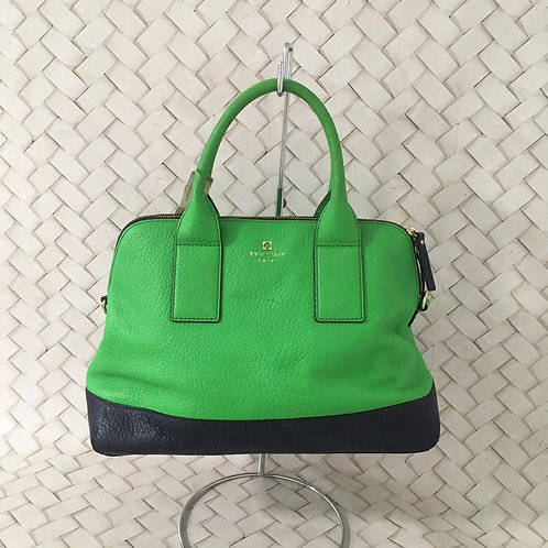 Bolsa Verde e Azul Couro KATE SPADE