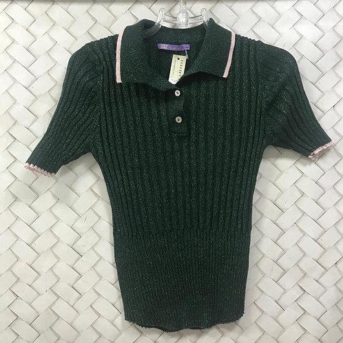 Blusa Linha Verde Canelada AZ