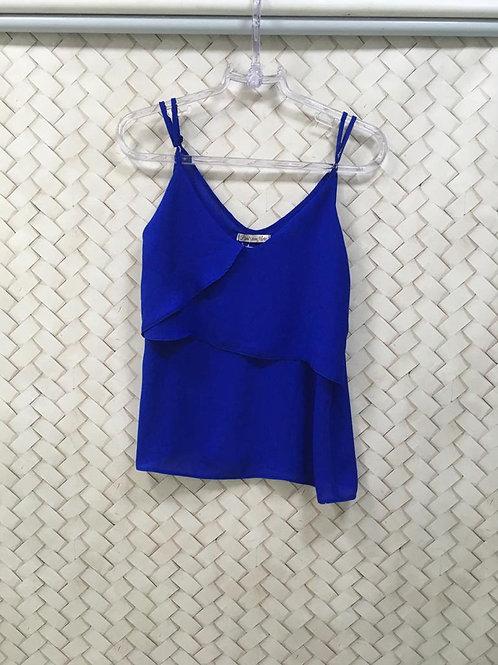 Camiseta Azul PONTO COM ARTE