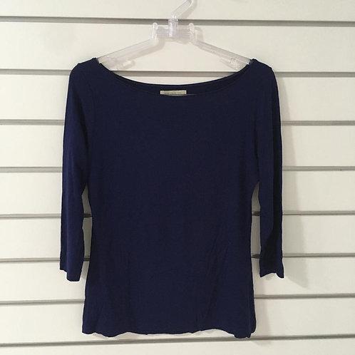 T-shirt Azul Malha ZARA