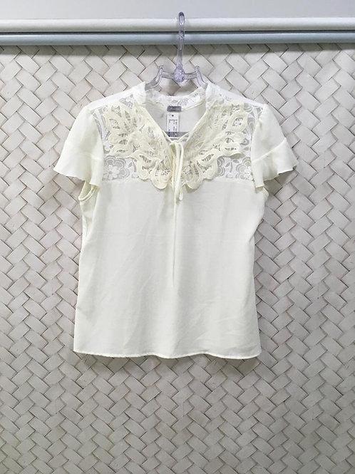Blusa Branca MISS.COM