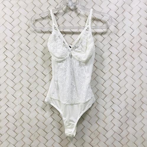 Body Renda Branco HIT
