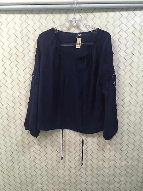 Blusa Azul M/L