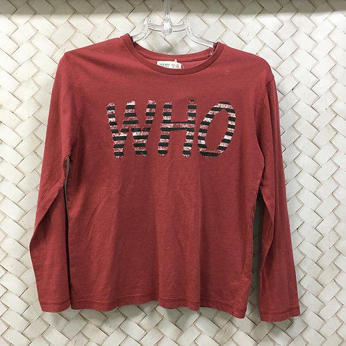 T-shirt Red M/L ZARA