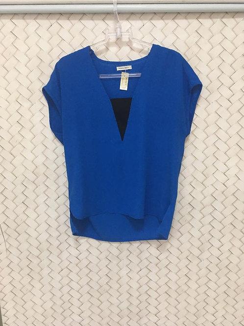 Blusa Azul LUIGI BERTOLLI