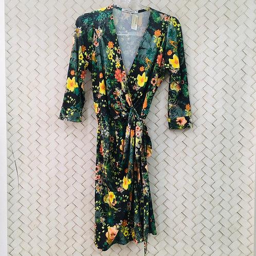 Vestido Floral Malha GREGORY