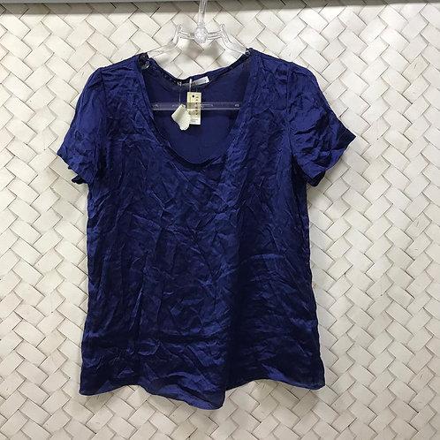 Blusa Azul Seda HIT