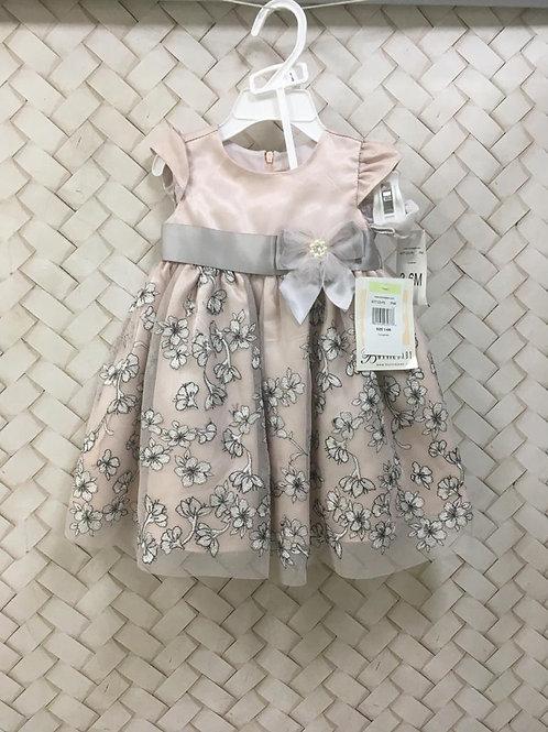 Vestido Floral Rosê BONNIE