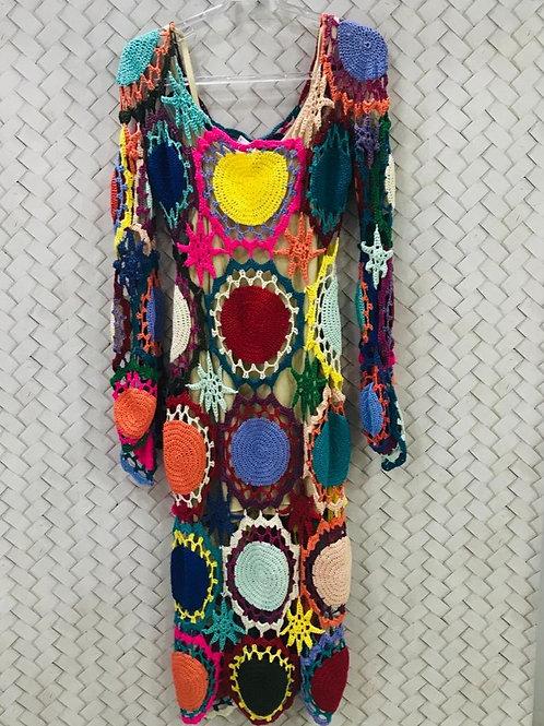Vestido Crochê THEREZA PRIORE