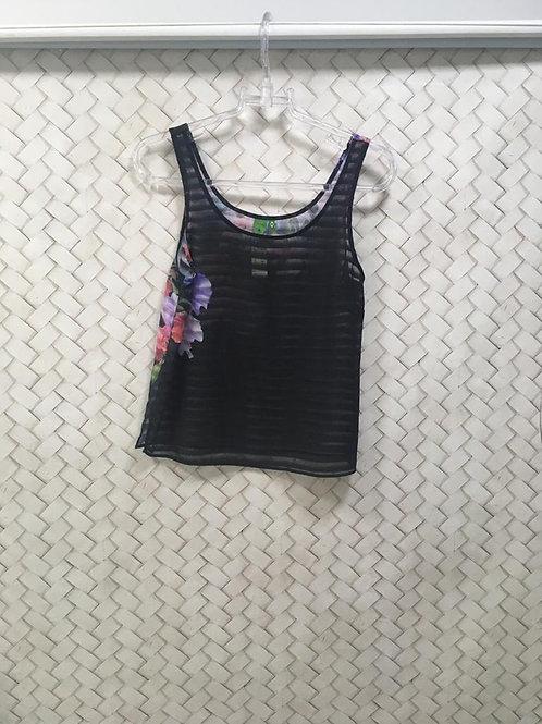 Camiseta Listra Crepe FARM