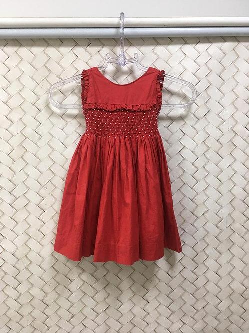 Vestido Infantil Red BELLE PETITE