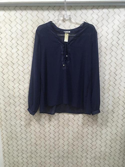 Camisa Azul COX