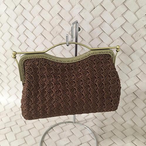 Bolsa Crochê Vintage