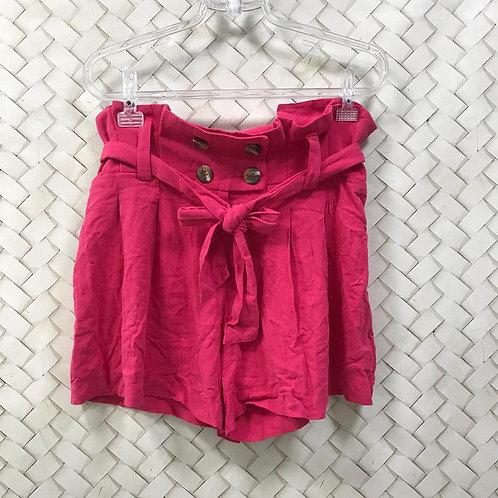 Short Pink Linho HIT