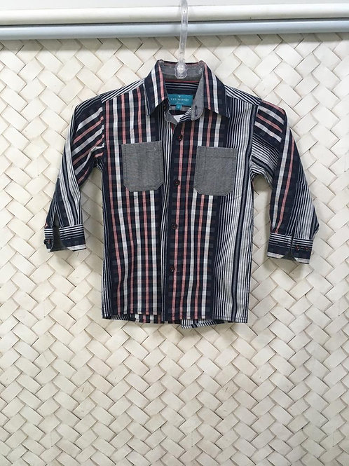 Camisa Xadrez Infantil VELMOND