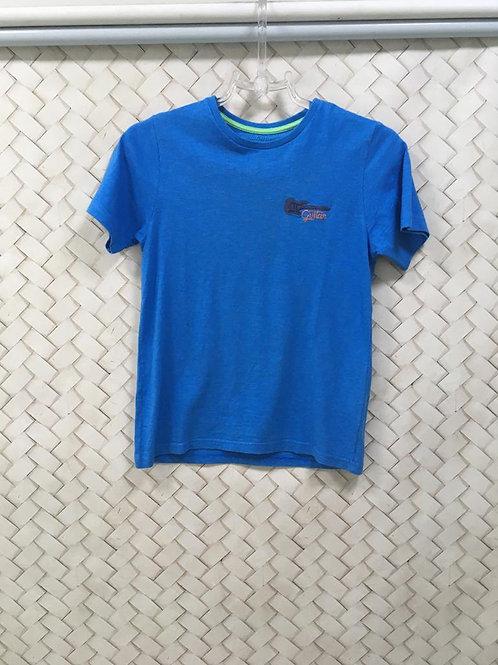 T-shirt Azul Infantil ALPHABETO