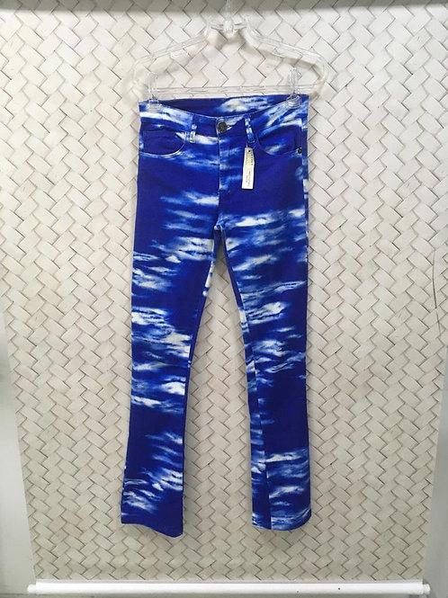 Calça Manchada Azul FARM