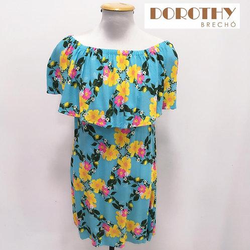 Vestido Ciganinha Floral BLUE STEEL