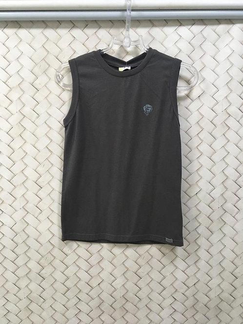 Camiseta Malha Cinza Infantil TIGOR