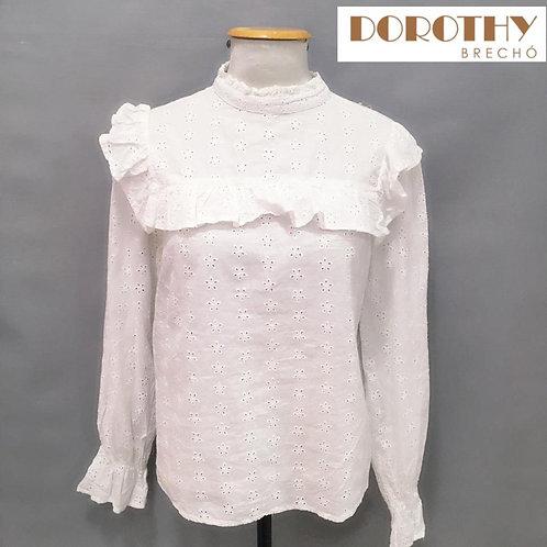 Blusa Branca Caça PRIMARK