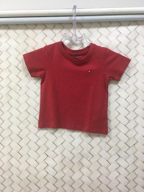 Blusa Malha Red Infantil TOMMY