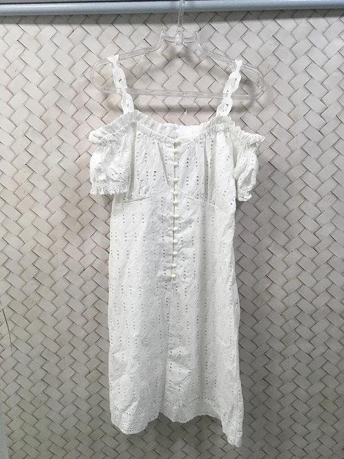Vestido Caça Branco BLOSSOM