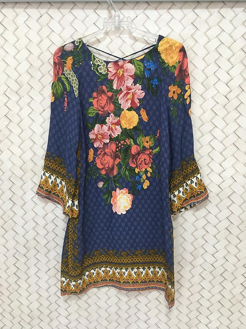 Vestido Floral M/L FARM