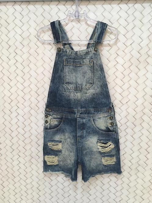 Jardineira Jeans HERING