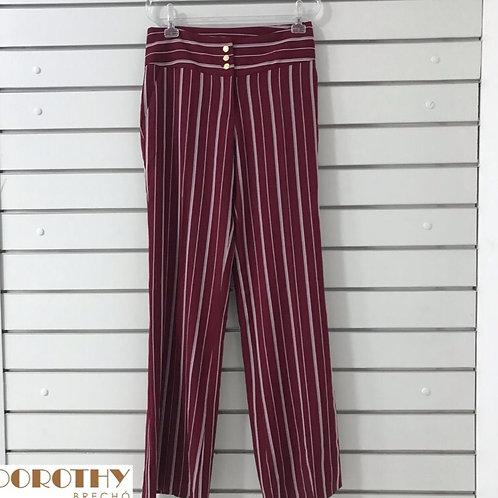 Calça Listra Pantalona