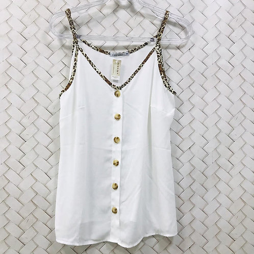 Camiseta Branca e Pele LICOMMO