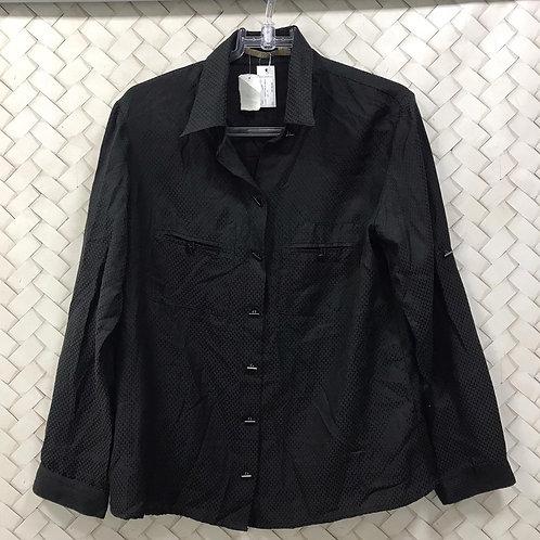 Camisa Preta Manga Longa HIT