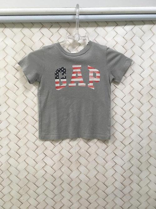T-shirt Malha Cinza GAP KIDS