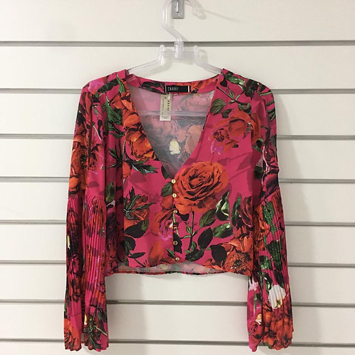 Blusa Floral CHARRY