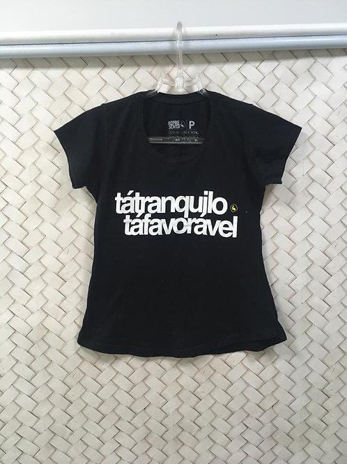 T-Shirt Preta REPRESENTA