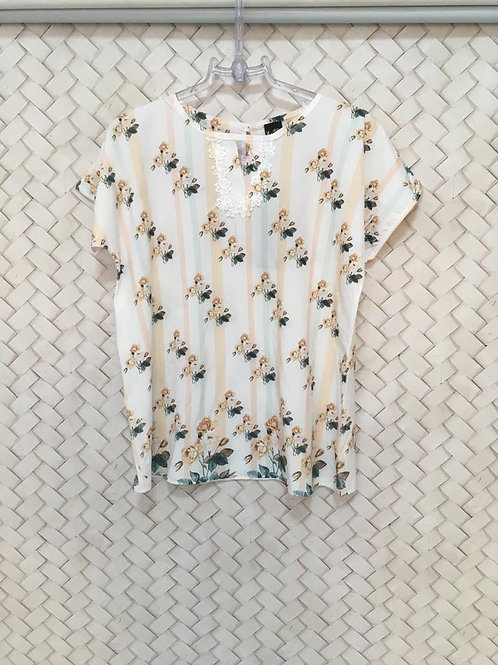 Blusa Floral MAZULLY
