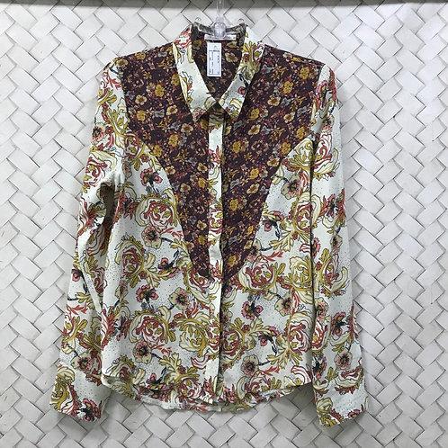 Camiseta Floral TALITA KUME