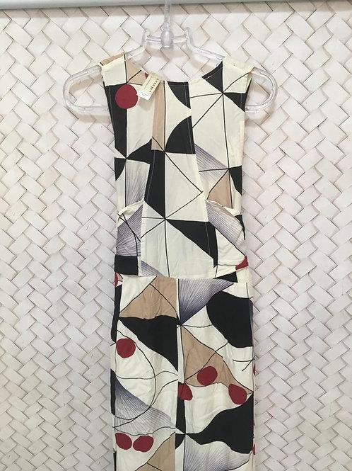 Vestido Longo Geométrico 804
