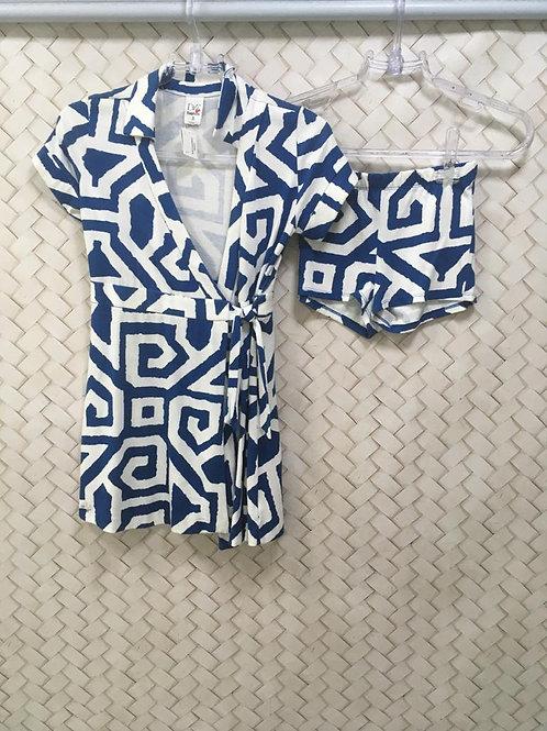 Vestido Envelope Malha GAP BY DVF