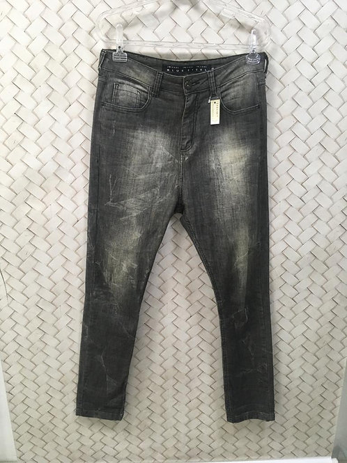 Calça Jeans Manchada BLUE STELL