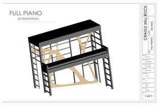 3D Cad Piano