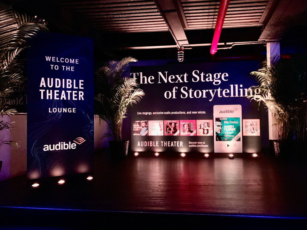 Obie Awards: Audible Theater Lounge