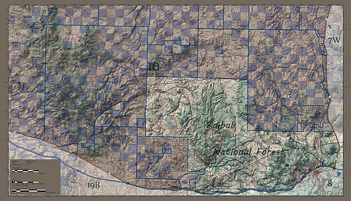 Arizona Hunt Unit 10 East Side Map