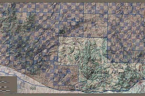 Arizona Hunt Unit 10 East Side Map
